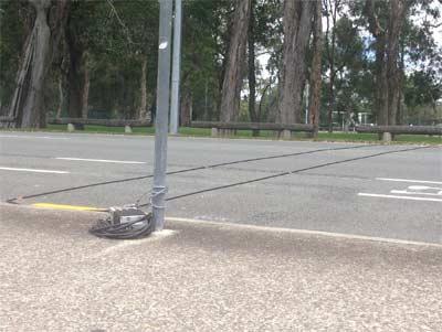 Sistema de Sinalização de Transito na Australia